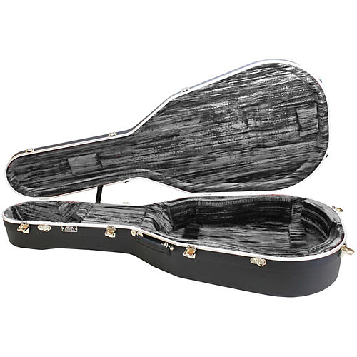 Hiscox Cases Classical Guitar Case/Small Black Shell/Silver Int-Artist-thumbnail