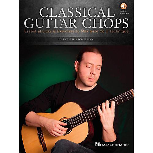 Hal Leonard Classical Guitar Chops  -Essential Licks & Exercises to Maximize Your Technique Book/Audio-thumbnail