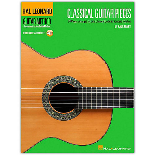 Hal Leonard Classical Guitar Pieces - The Guitar Method Supplement (Book/Online Audio)-thumbnail