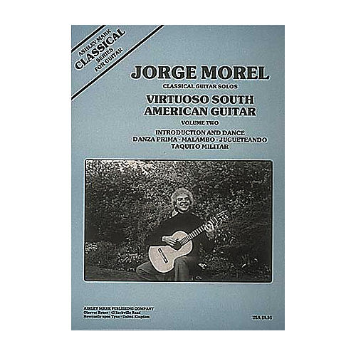 Ashley Mark Classical Guitar Solos Virtuoso South American Guitar Volume 2-thumbnail