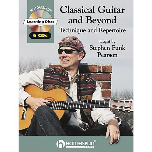 Homespun Classical Guitar and Beyond (Book/CD)-thumbnail