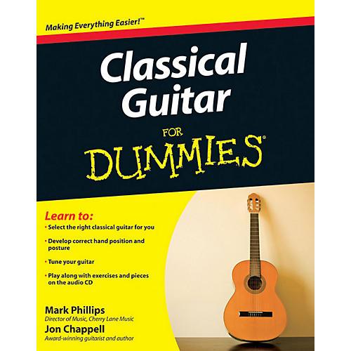 Mel Bay Classical Guitar for Dummies  Book/CD Set-thumbnail
