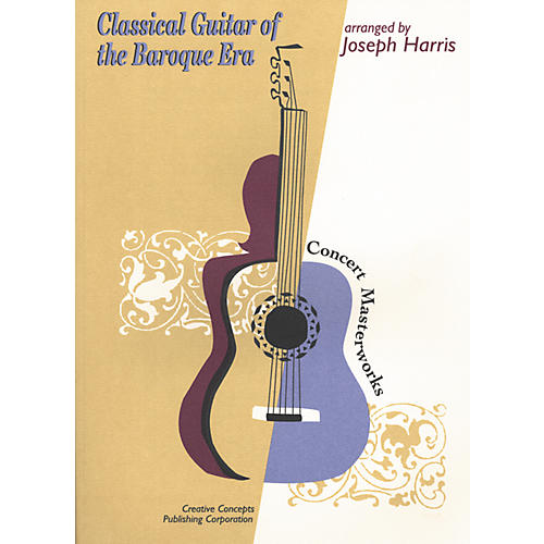 Creative Concepts Classical Guitar of the Baroque Era Book-thumbnail