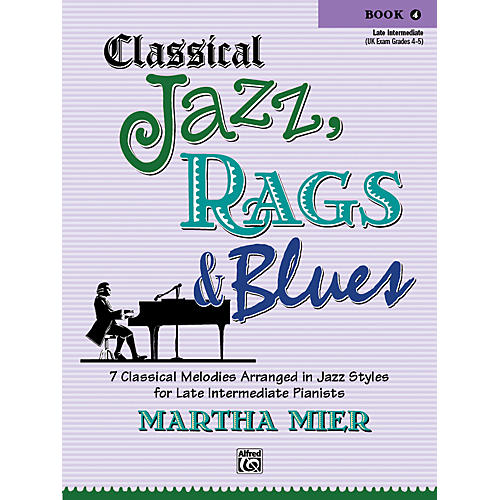 Alfred Classical Jazz Rags & Blues Book 4 Piano-thumbnail