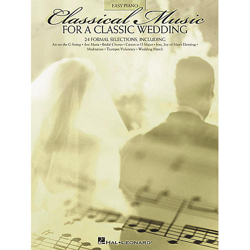Hal Leonard Classical Music For A Classic Wedding For Easy Piano-thumbnail