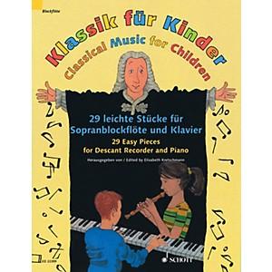 Schott Classical Music for Children Woodwind Solo Series Softcover by Schott