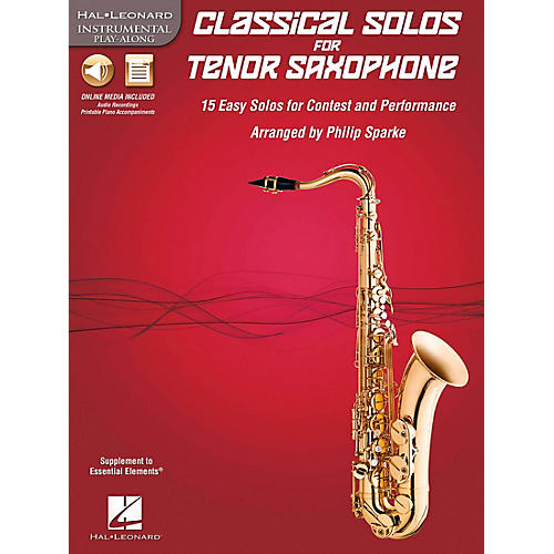 De Haske Music Classical Solos - 15 Easy Solos for Contest and Performance Book/CD-thumbnail