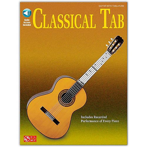 Cherry Lane Classical Tab Guitar SongBook/Online Audio Book/Online Audio