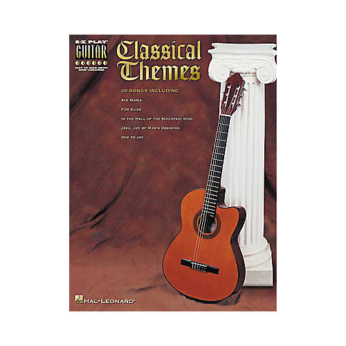 Hal Leonard Classical Themes Easy Guitar Book