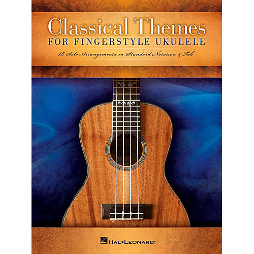 Hal Leonard Classical Themes For Fingerstyle Ukulele-thumbnail