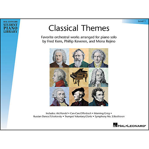 Hal Leonard Classical Themes Level 1 Hal Leonard Student Piano Library