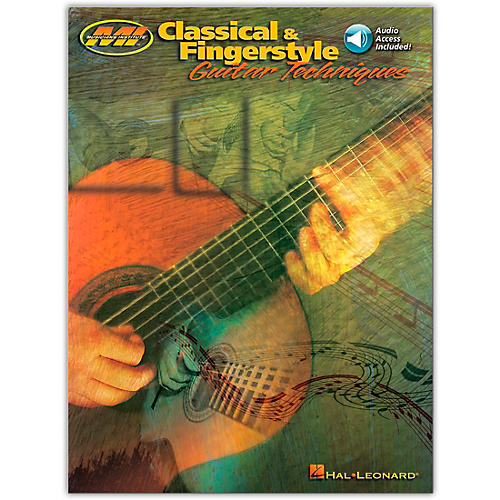 Hal Leonard Classical and Fingerstyle Guitar Techniques (Book/Online Audio)-thumbnail