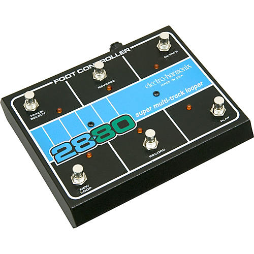 Electro-Harmonix Classics 2880 Super Multitrack Looper Footswitch-thumbnail