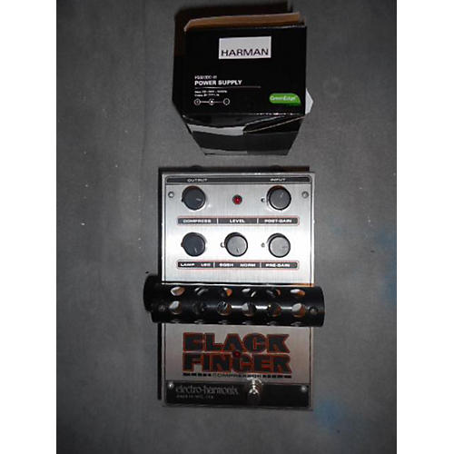 Electro-Harmonix Classics Black Finger Compressor Effect Pedal-thumbnail
