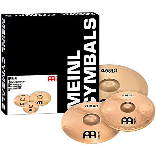 Meinl Classics Custom Brilliant Cymbal Box Set-thumbnail