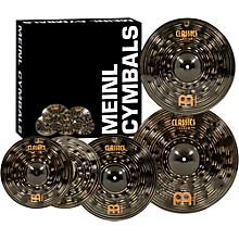 "Meinl Classics Custom Dark Pack Bonus Box Set with FREE 18"" Dark Crash"