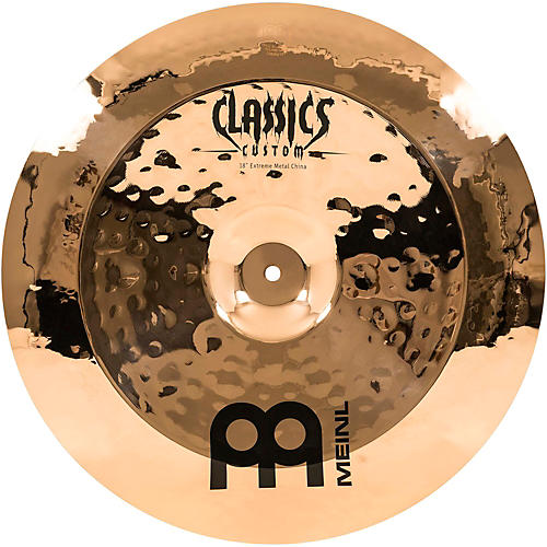 Meinl Classics Custom Extreme Metal China Cymbal Bronze 18 in.