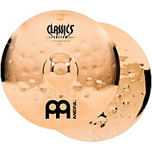 Meinl Classics Custom Extreme Metal Hi-Hat Cymbal Pair