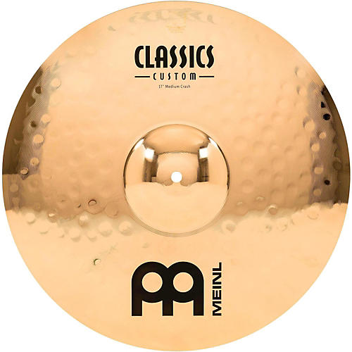 Meinl Classics Custom Medium Crash - Brilliant-thumbnail