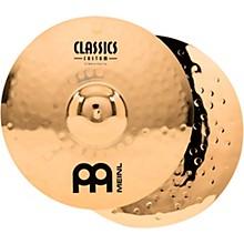 Meinl Classics Custom Medium Hi-Hats - Brilliant