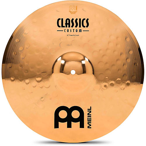 Meinl Classics Custom Powerful Crash - Brilliant 16 in.