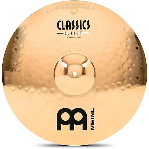 Meinl Classics Custom Powerful Crash - Brilliant 18 in.