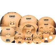 "Meinl Classics Custom Triple Bonus Pack Cymbal Box Set with FREE 8"" Bell, 10"" Splash, 12"" Trash Splash"