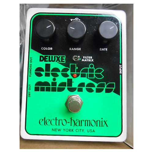Electro-Harmonix Classics Deluxe Electric Mistress Flanger / Filter Matrix Effect Pedal-thumbnail