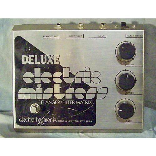 Electro-Harmonix Classics Deluxe Electric Mistress Flanger / Filter Matrix Effect Pedal-thumbnail