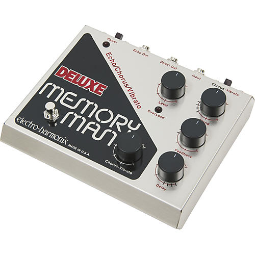 Electro-Harmonix Classics Deluxe Memory Man Delay Guitar Effects Pedal