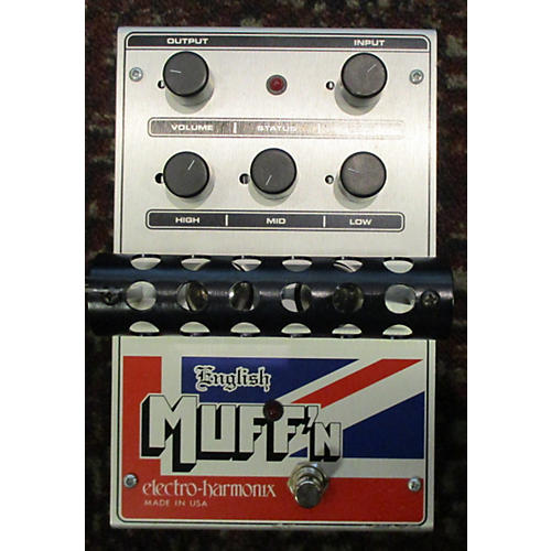 Electro-Harmonix Classics English Muff'n Overdrive Effect Pedal-thumbnail