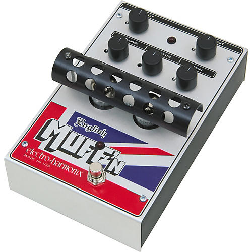 Electro-Harmonix Classics English Muff'n Overdrive Guitar Effects Pedal-thumbnail