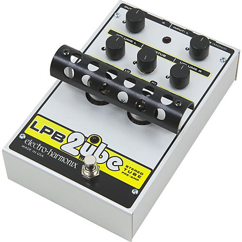 Electro-Harmonix Classics LPB 2ube Stereo Tube Preamp Guitar Effects Pedal