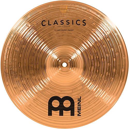 Meinl Classics Medium Crash Cymbal 15 in.