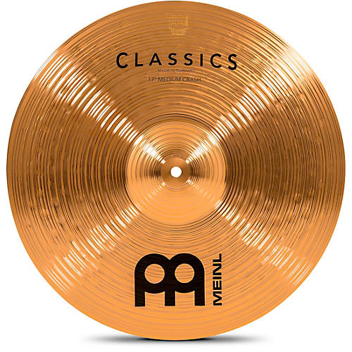 Meinl Classics Medium Crash Cymbal-thumbnail