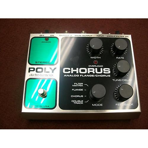 Electro-Harmonix Classics Stereo Polychorus Analog Flange / Chorus Effect Pedal-thumbnail