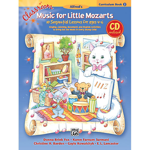 Alfred Classroom Music for Little Mozarts Curriculum Book 2 & CD-thumbnail