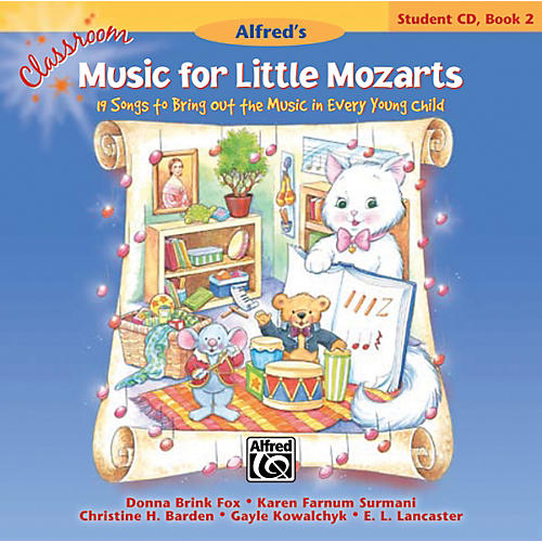 Alfred Classroom Music for Little Mozarts Student CD 2