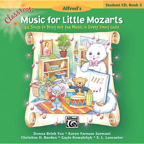 Alfred Classroom Music for Little Mozarts: Student CD Book 3-thumbnail