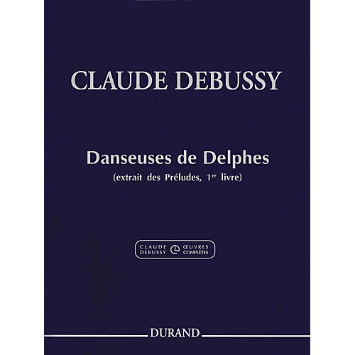 Durand Claude Debussy Danseuses de Delphes Book 1 For Piano-thumbnail