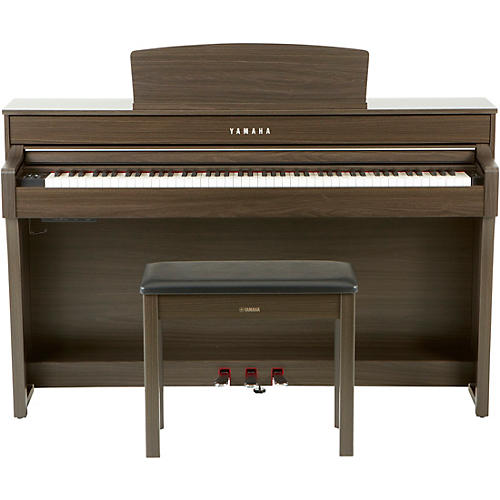 Yamaha clavinova clp645 console digital piano with bench for Yamaha console piano prices