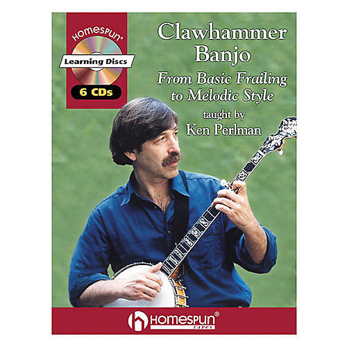 Homespun Clawhammer Banjo (Book/CD)-thumbnail