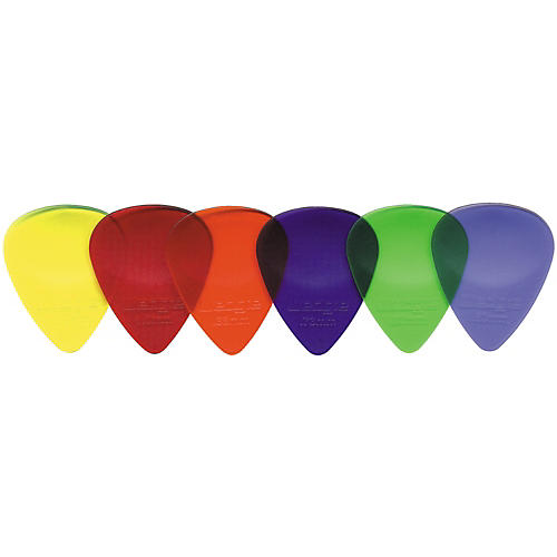 Wedgie Clear XL Guitar Picks 1 Dozen-thumbnail