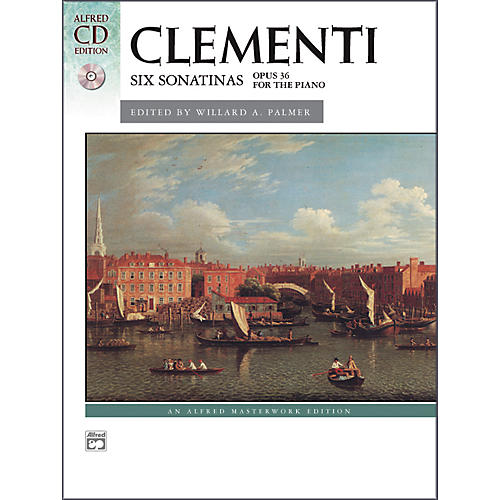 Alfred Clementi Six Sonatinas Op. 36 Intermediate Book & CD Piano-thumbnail