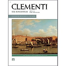 Alfred Clementi Six Sonatinas Op. 36 Intermediate Sheet Piano