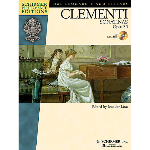 G. Schirmer Clementi Sonatinas Op 36 Book/CD - Schirmer Performance Edition By Clementi / Linn