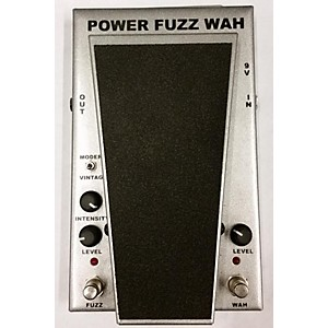 Pre-owned Morley Cliff Burton Power Fuzz Wah Effect Pedal