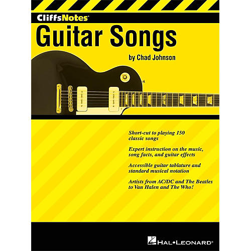 Hal Leonard Cliffsnotes To Guitar Songs-thumbnail