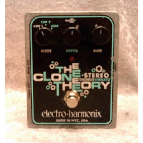 Electro-Harmonix Clone Theory Stereo Chorus Vibrato Effect Pedal-thumbnail