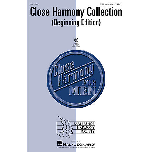 Hal Leonard Close Harmony Collection (Beginning Edition) TTBB